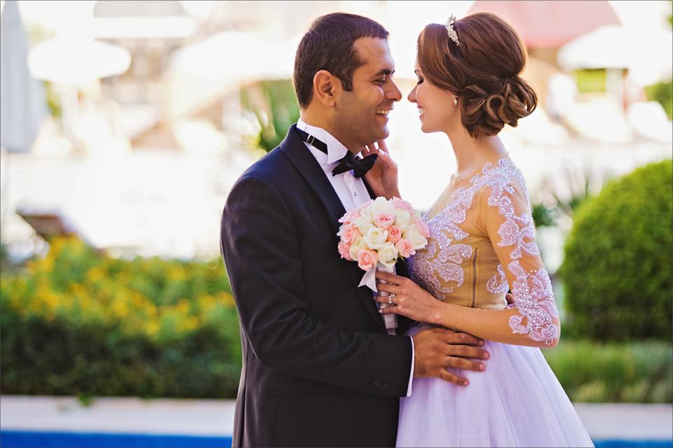 Слияние культур на свадебном торжестве