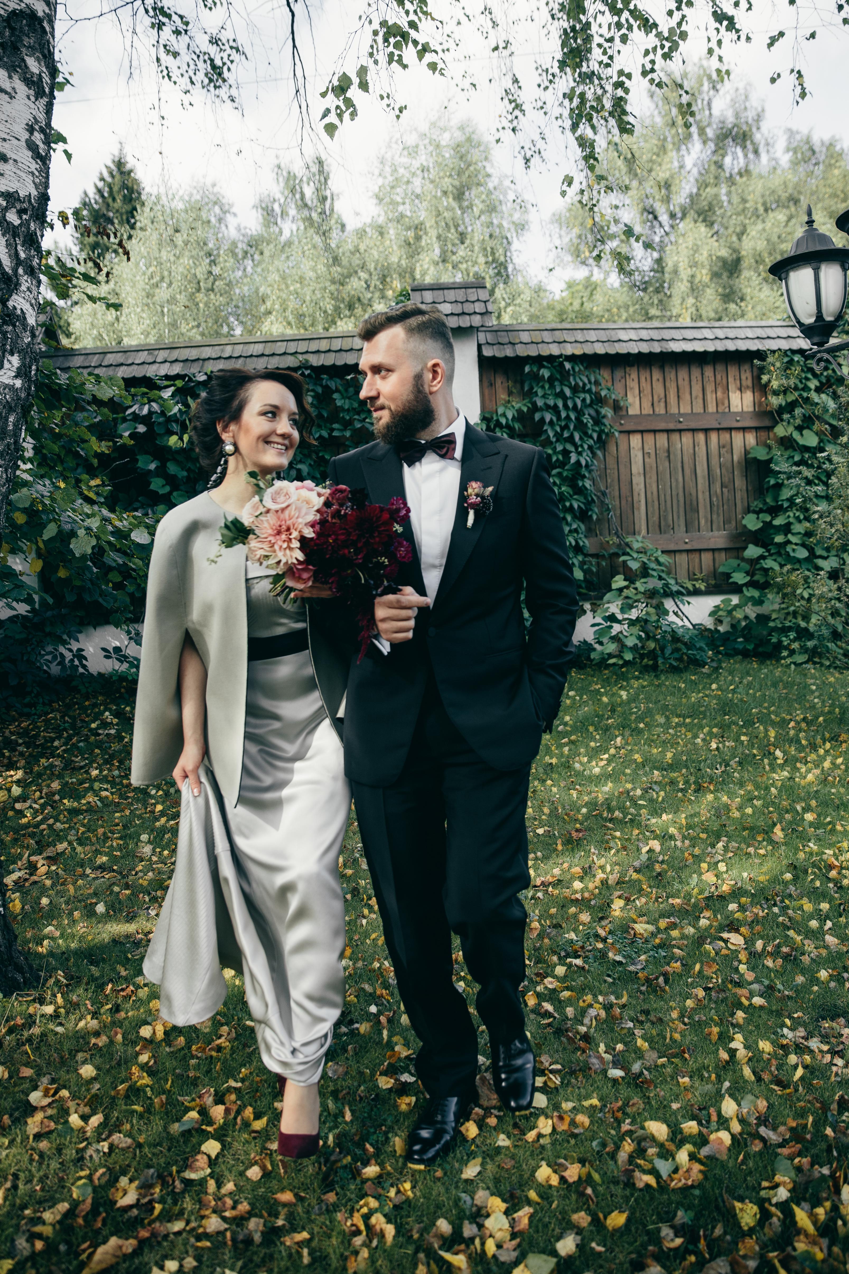 Свадьба осенью: тепло, душевно, вкусно